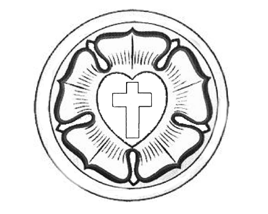 Lutheran Seal Coloring Page