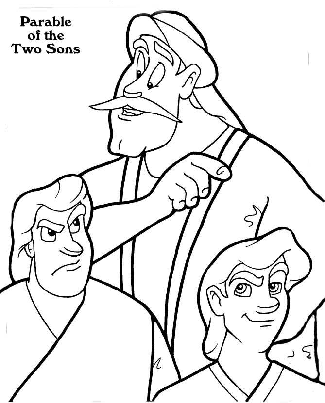 The Fourth Commandment And The Parable Of The Two Sons